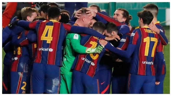 El Barcelona avanzó a la final, tras el cobro de Riqui Puig.