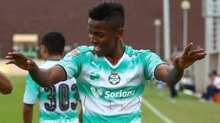 El futbolista fue registrado en la sub 20 del equipo lagunero.