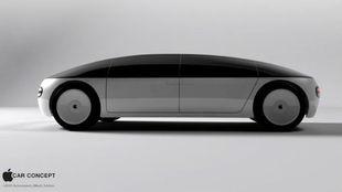 Una imagen del Car Concept presentado por Apple en 2015 y basado en el...
