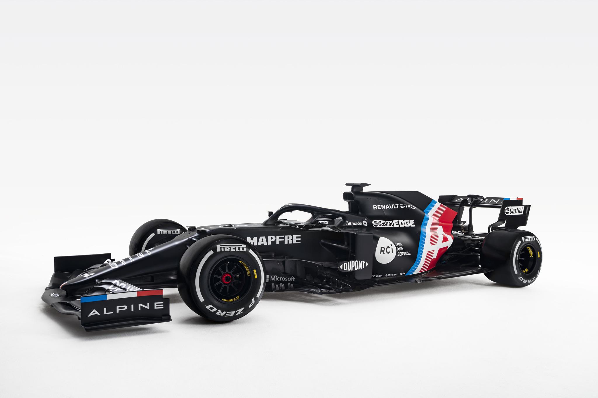 El nuevo coche de Alonso se llama A521