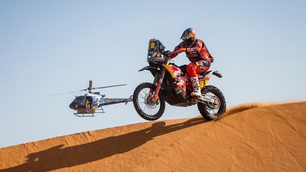 Sam Sunderland ha estado a punto de darle la vuelta al Dakar.