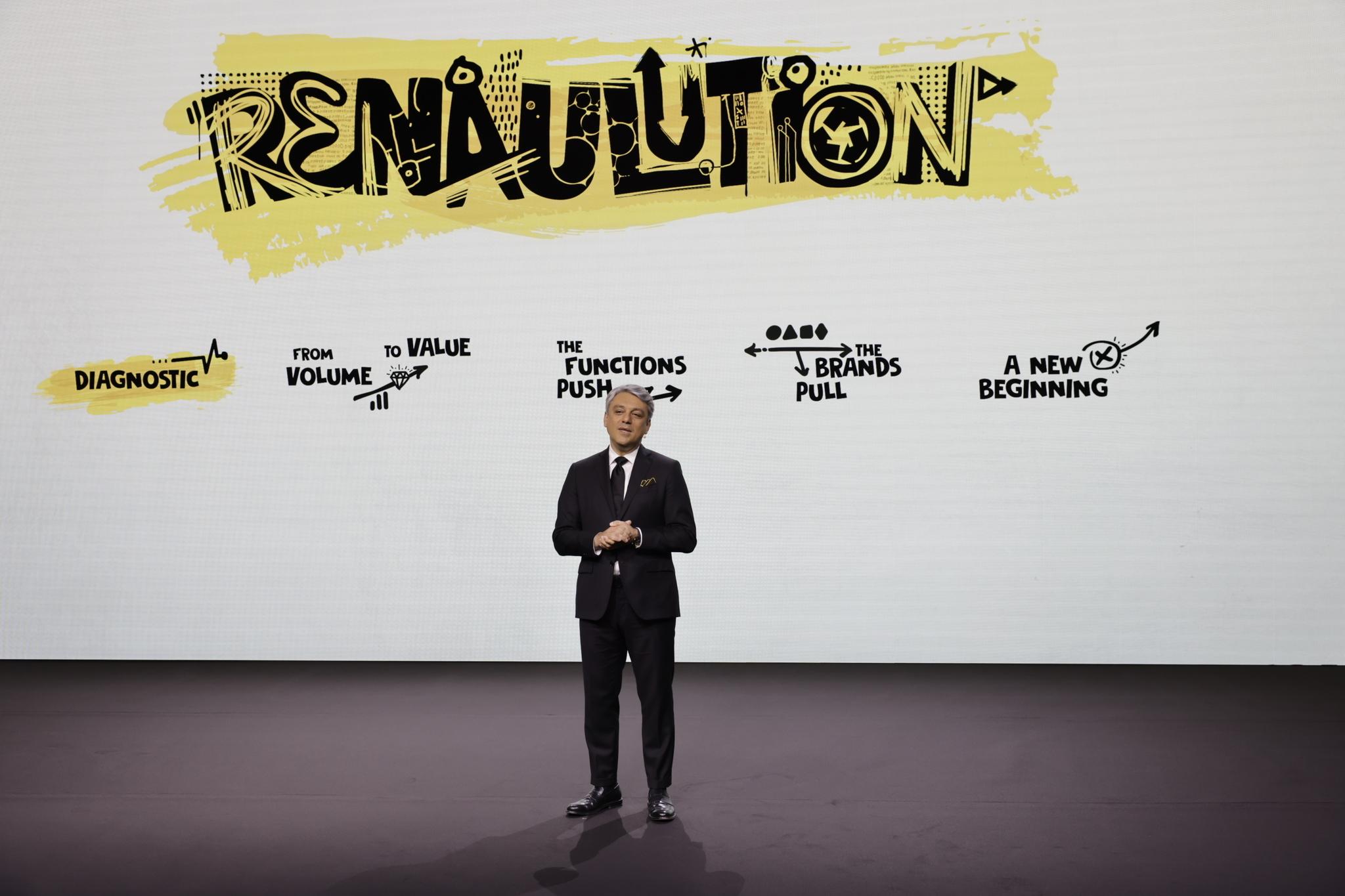 La nueva estrategia del Grupo Renault se delonima Renaulution.