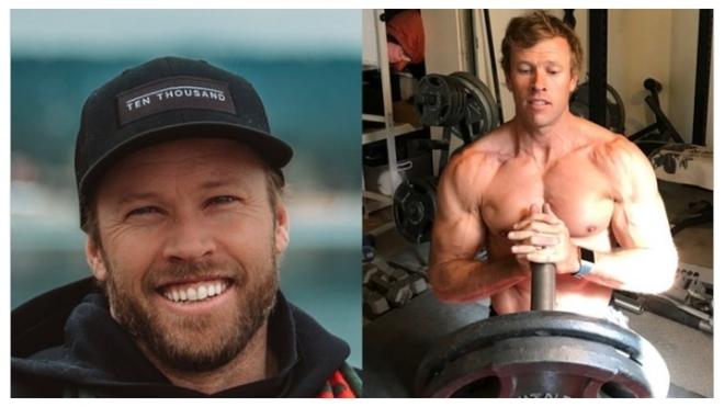 ¡¡El increíble cambio físico del exatleta Ryan Hall: de 55 kilos a casi 90!!