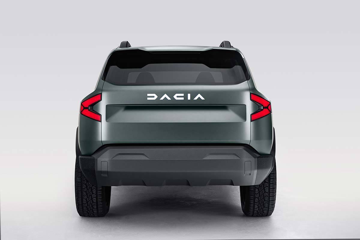 Dacia lanzará el Bigster en 2022, un SUV más grande que el Duster
