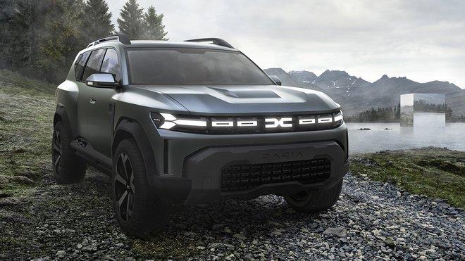 Dacia Bigster.
