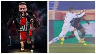 Neymar provoca a Álvaro en Twitter... y se acaba liando
