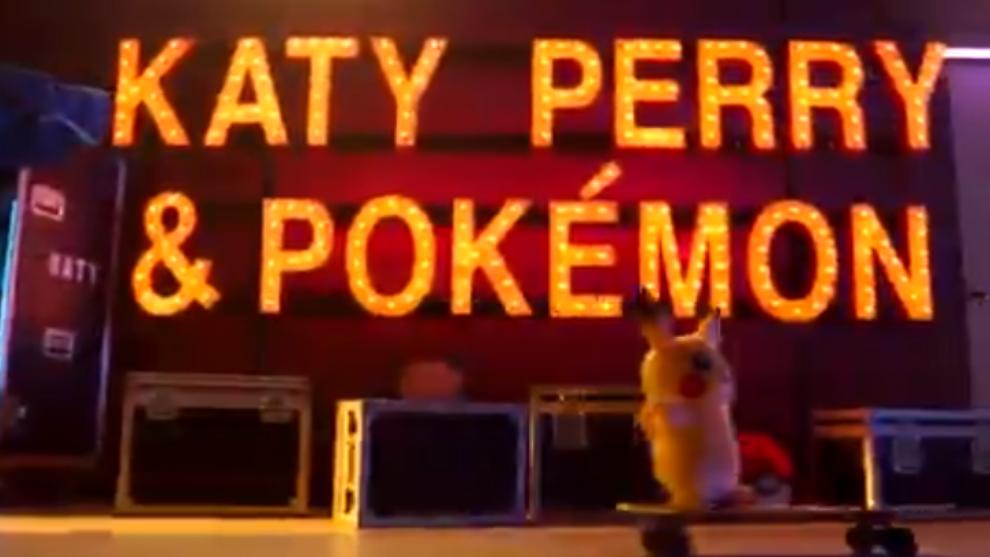 El anuncio de colaboración entre Katy Perry y Pokemon