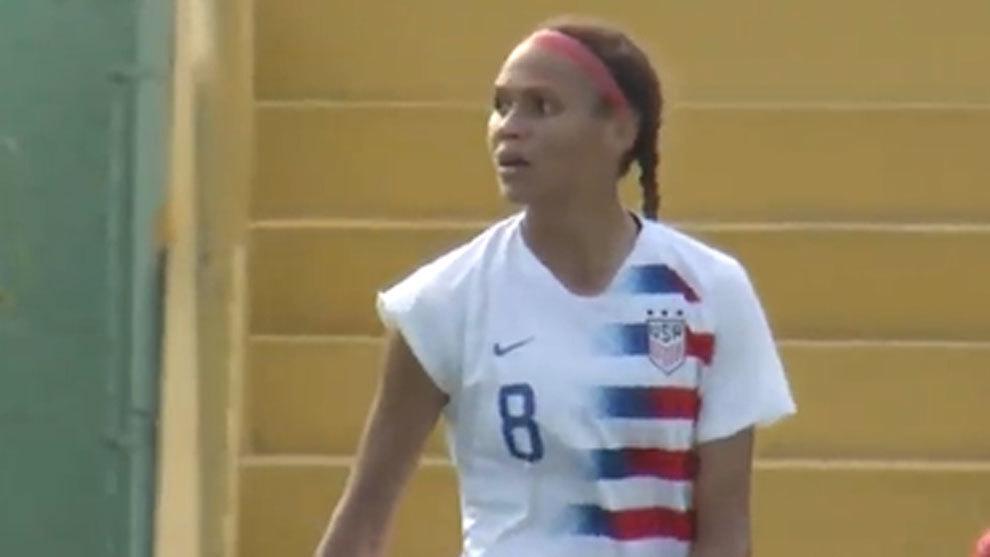 Rodman cambia la NBA por el fútbol: Trinity, la hija del mítico 'Gusano', número 2 del draft de la NWSL