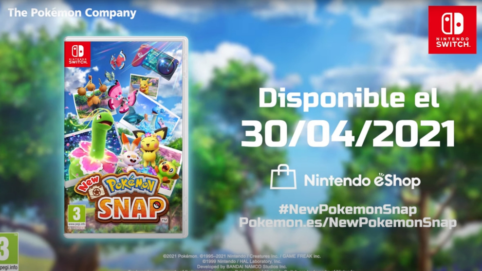 New Pokémon Snap ya tiene fecha de lanzamiento para Nintendo Switch