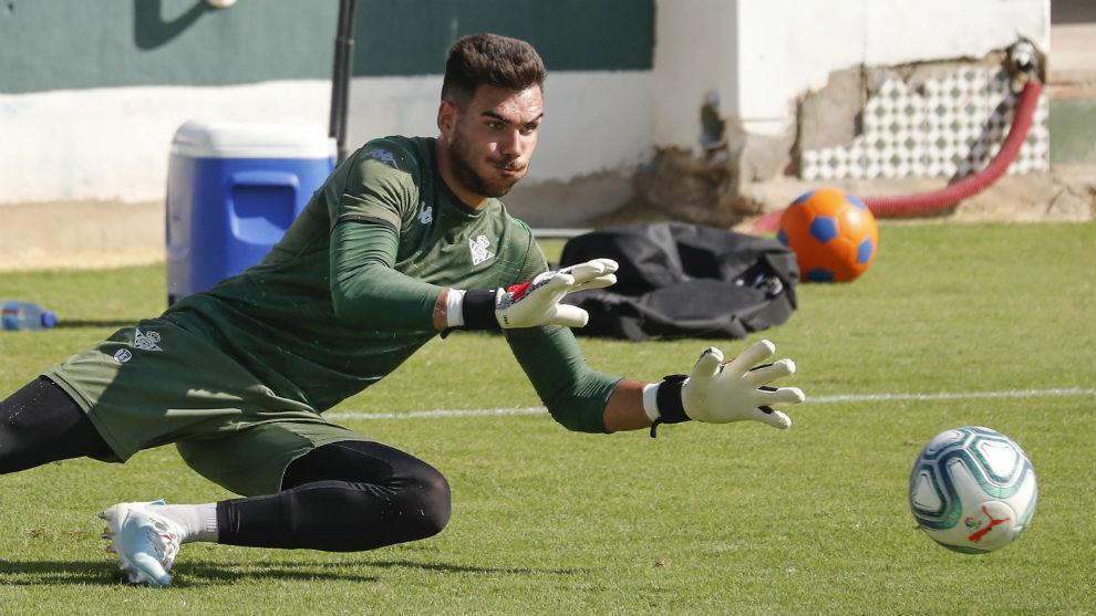 Dani Martín, en un entrenamiento