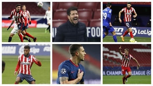 The five unexpected stars of winter champions Atletico Madrid
