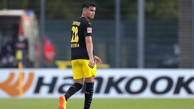 Reinier Jesús, en un partido amistoso entre el Borussia Dortmund y el...
