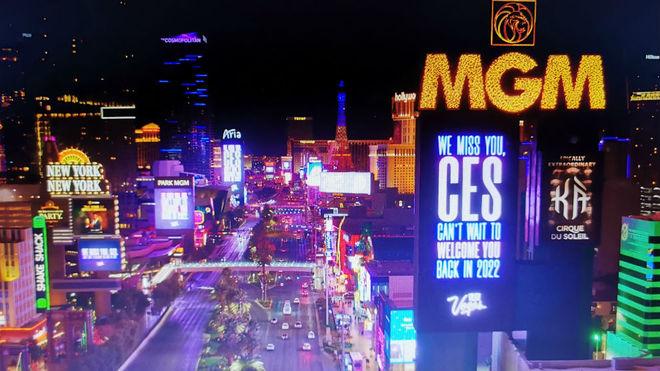 Las luces de neón son una característica intrínseca de Las Vegas.