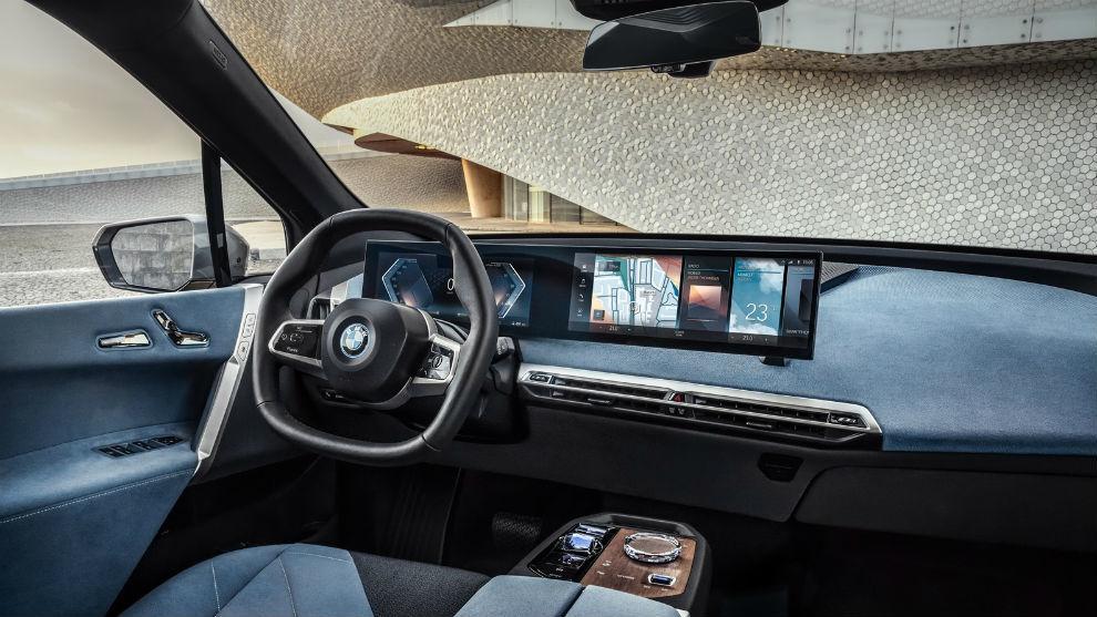 BMW presentó su nuevo concepto de salpicadero, que debutará en los BMW iX e i4.