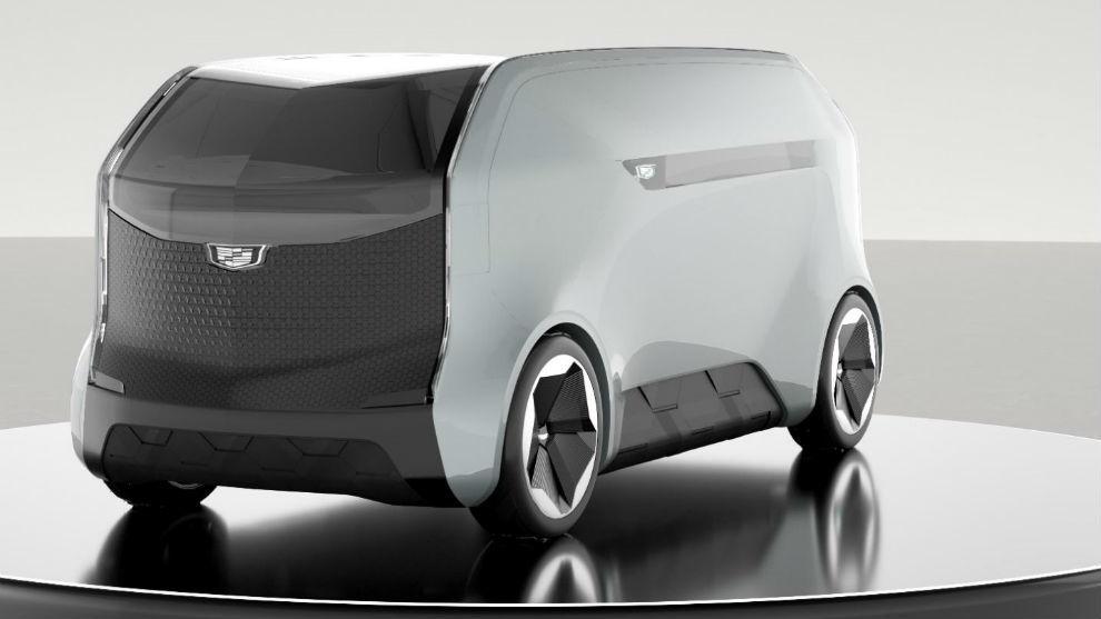 El transportador de personas de Cadillac, autónomo y con un interior diseñado como sala de estar.