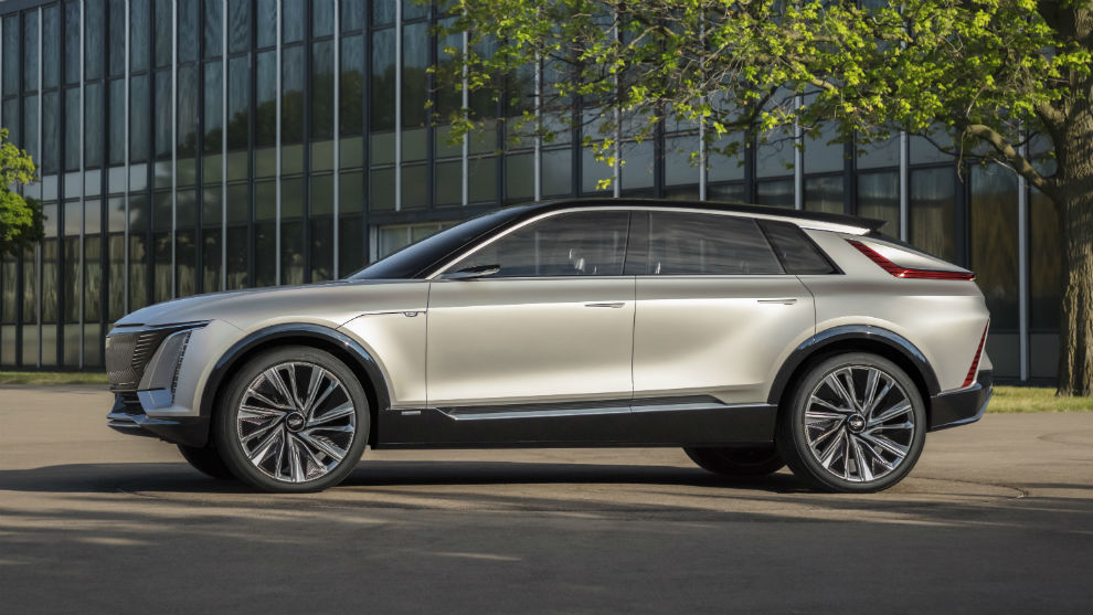 El Cadillac Lyriq, el nuevo SUV de la marca de lujo de General Motors.