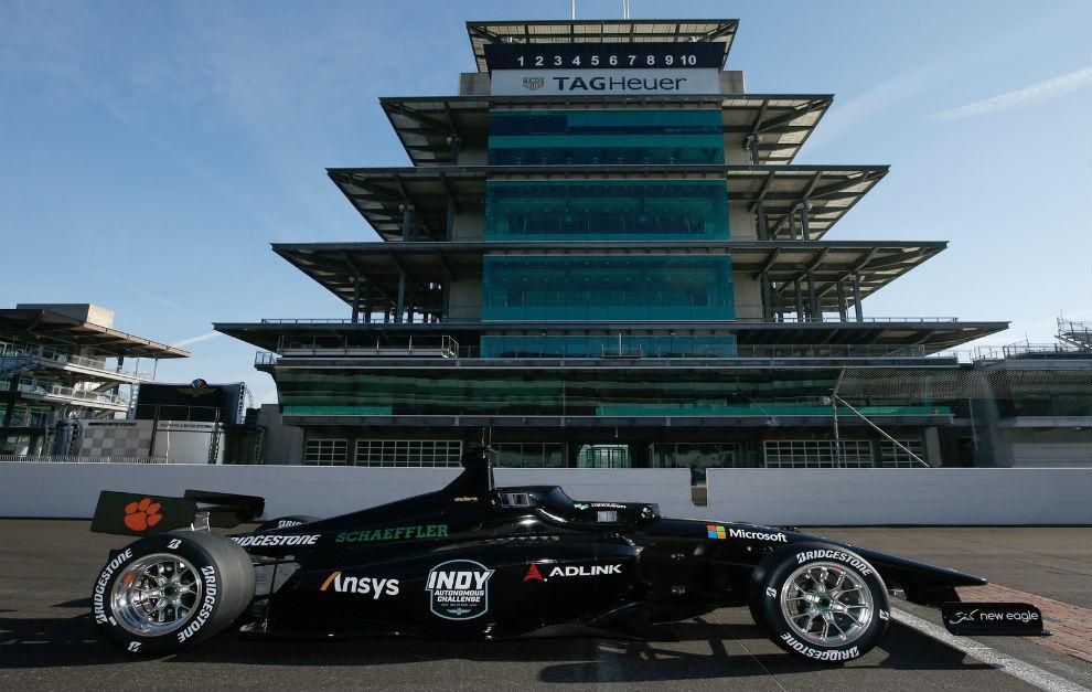 El Indy Autonomous Challenge, el primer monoplaza de carreras autónomo.
