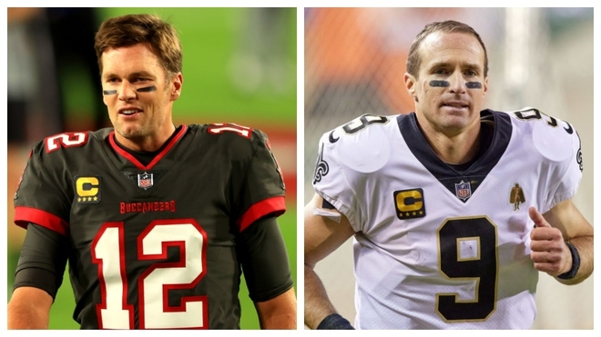 Tom Brady vs Drew Brees