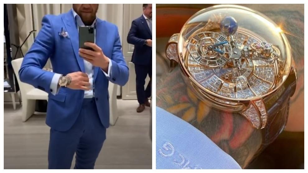 Conor McGregor's new watch