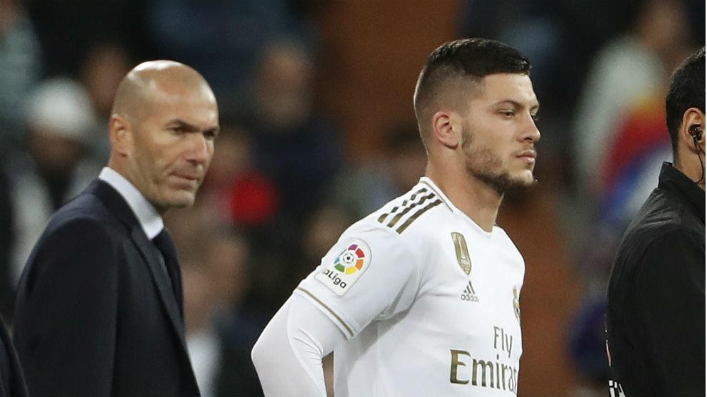 Zidane and Jovic