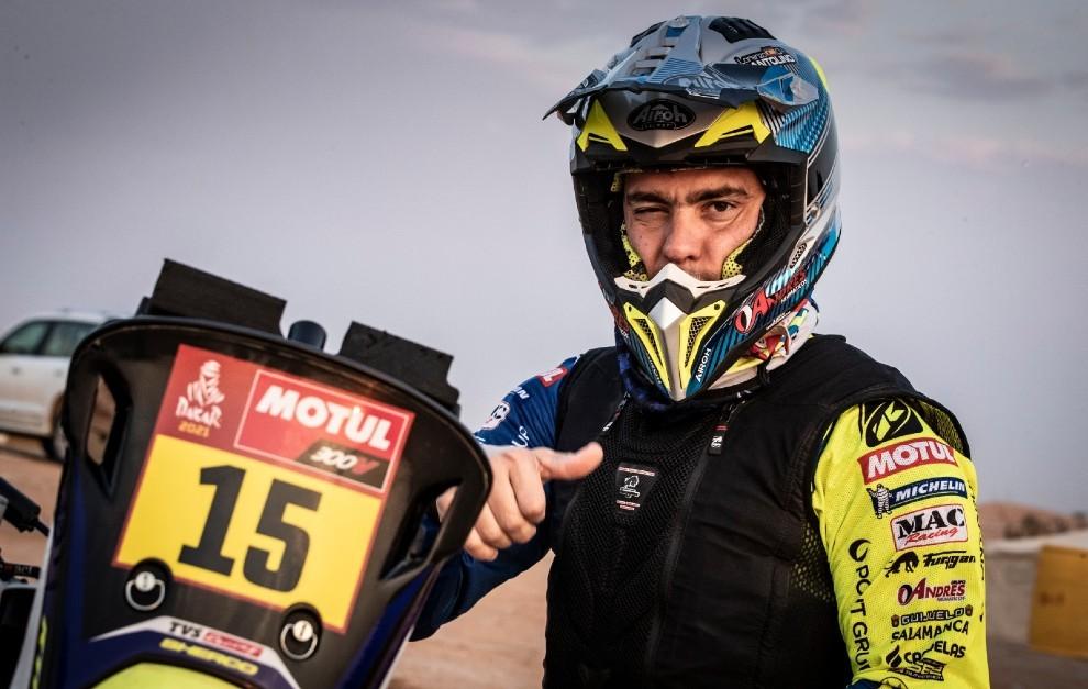 Lorenzo Santolino ha completado un sensacional Dakar.