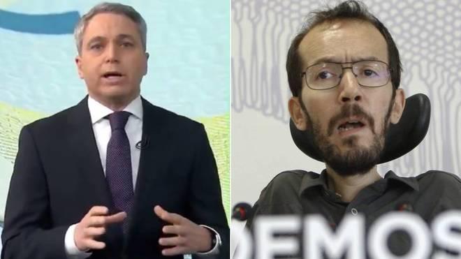 Vallés atiza al Gobierno por la subida de la luz y Echenique salta:...