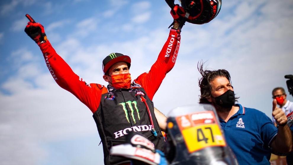 Kevin Benavides le da a Honda su segundo Dakar consecutivo.