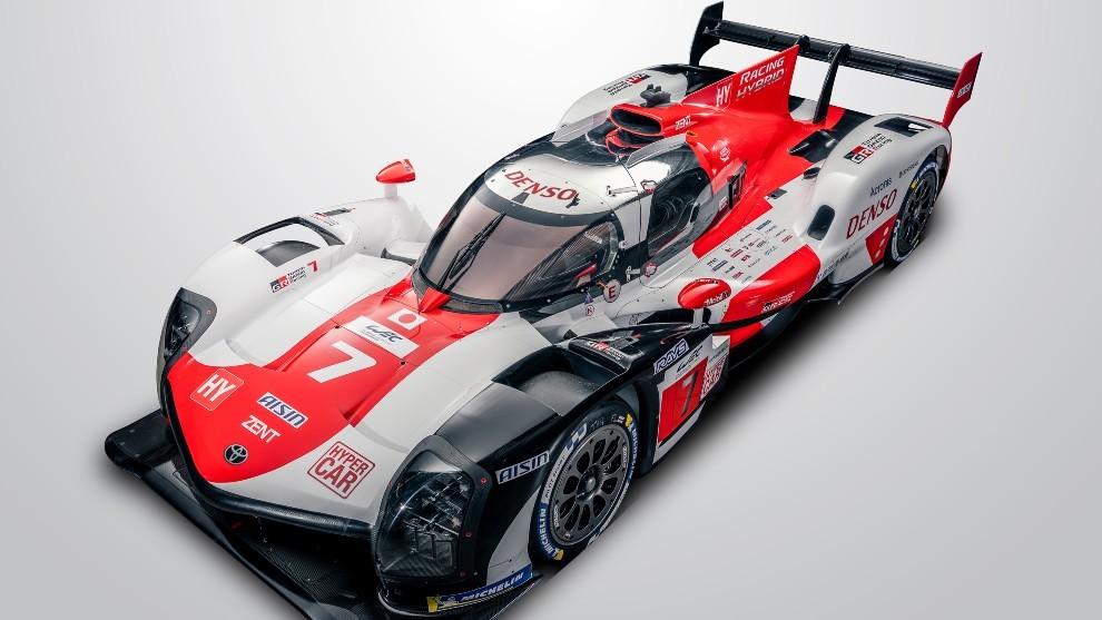 Así es el nuevo Toyota GR010 que competirá en el WEC y Le Mans.