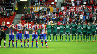 Último cruce copero entre Sporting y Betis en 2015