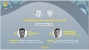 Imagen de la RFEF para anunciar los árbitros de la final de la...
