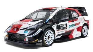 El Toyota Yaris WRC renueva su diseño.