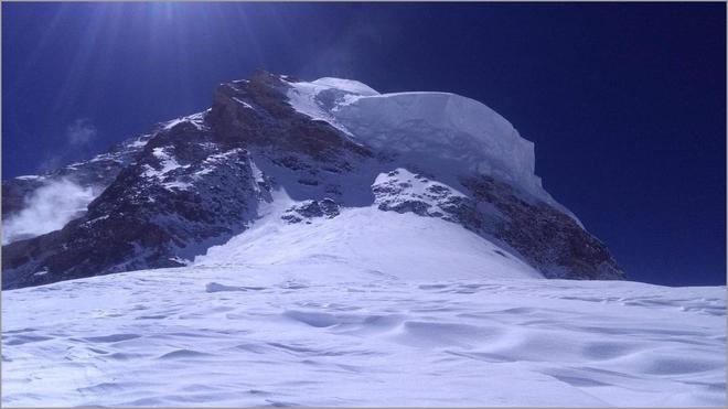 Una imagen del K2, el único ochomil que no se ha coronado en...