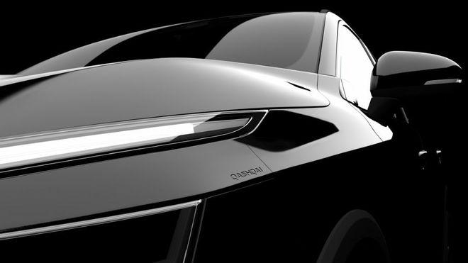 Un teaser del nuevo Nissan Qashqai, que será presentado en primavera...