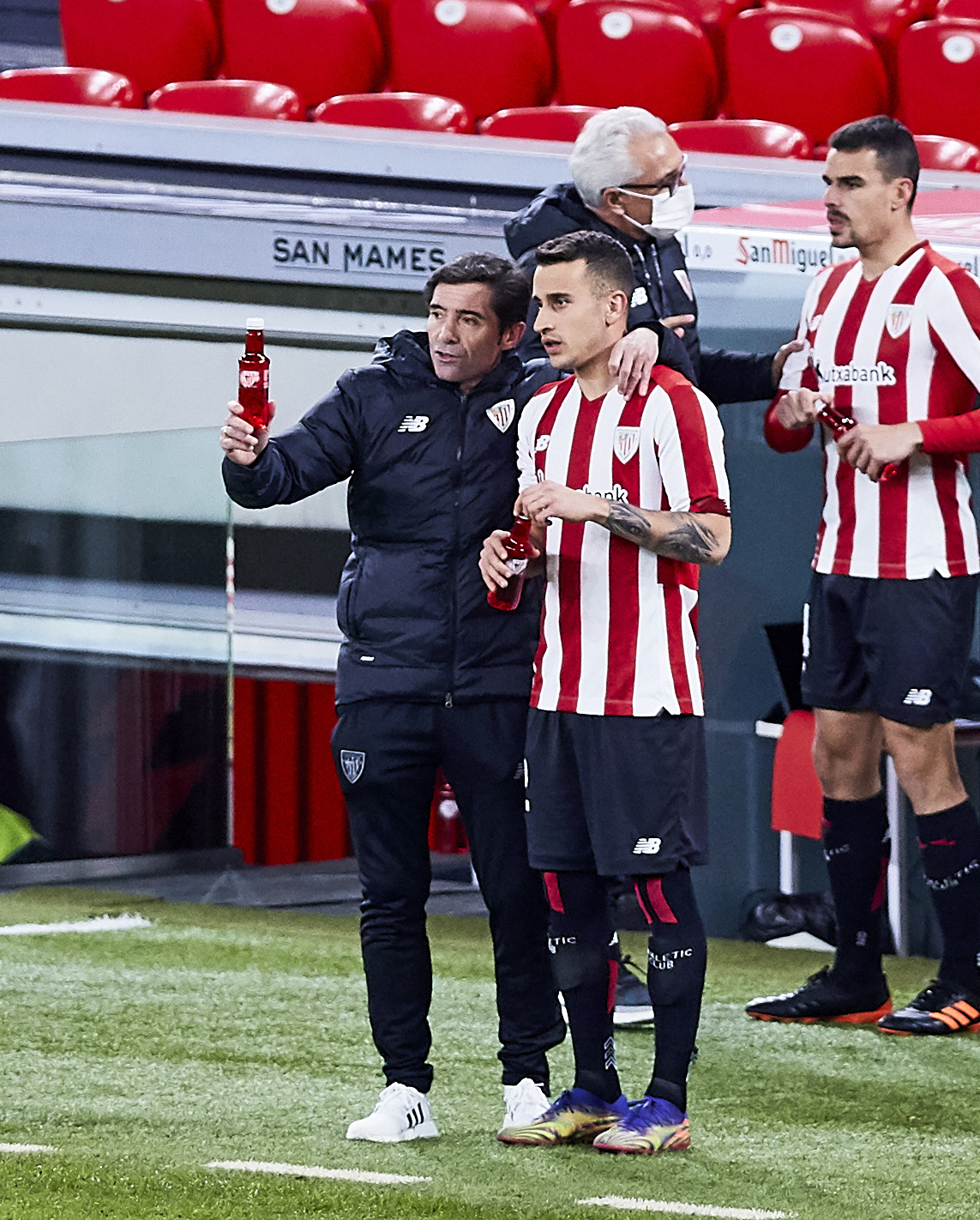 MATCH OF THE SANTANDER LEAGUE BETWEEN ATHLETIC AND BARCELONA IN SAN MAMES