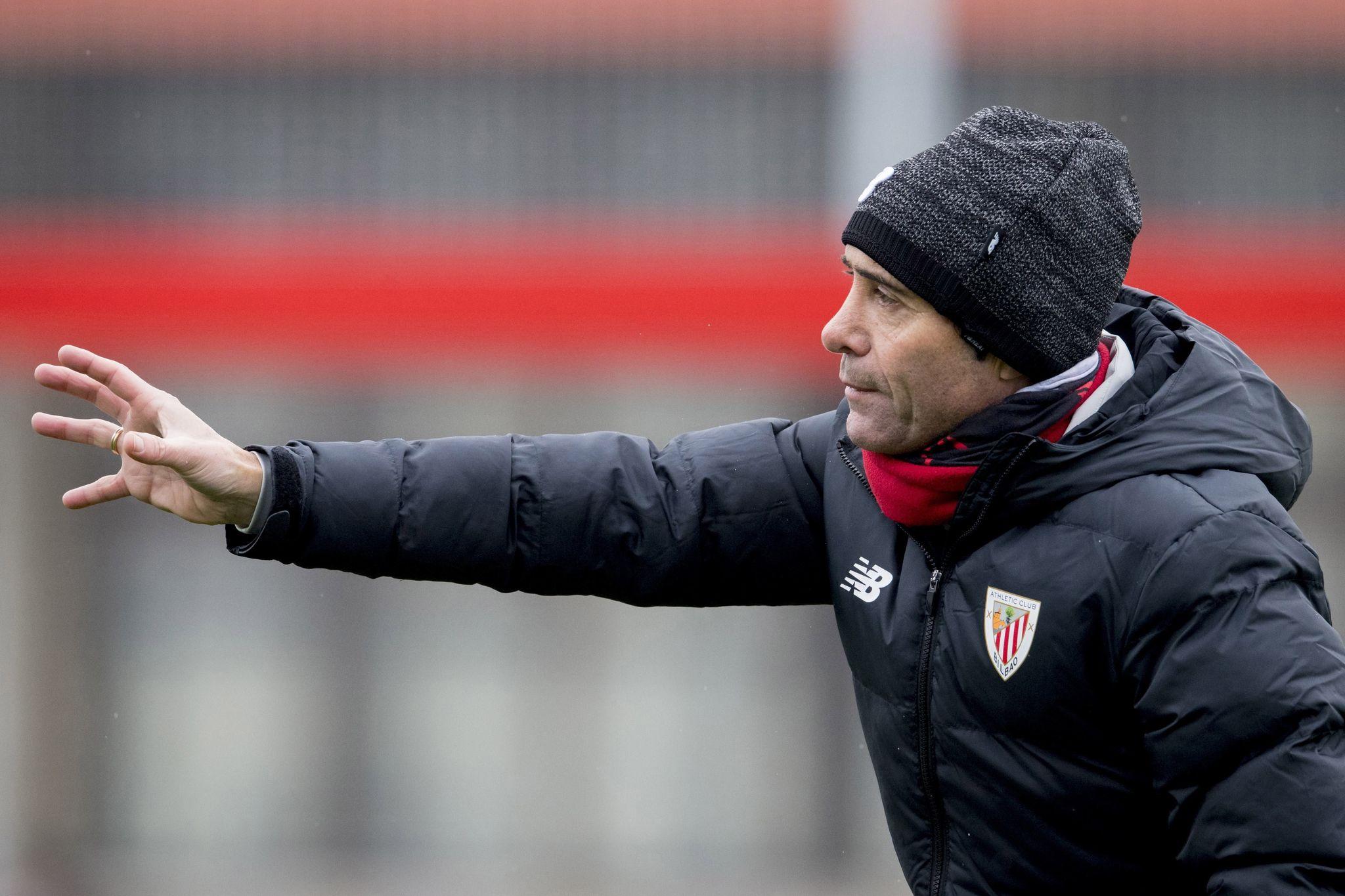 GRAF7787. BILBAO, 09/01/2021.- El entrenador del Athletic Club lt;HIT gt;Marcelino lt;/HIT gt; Garc