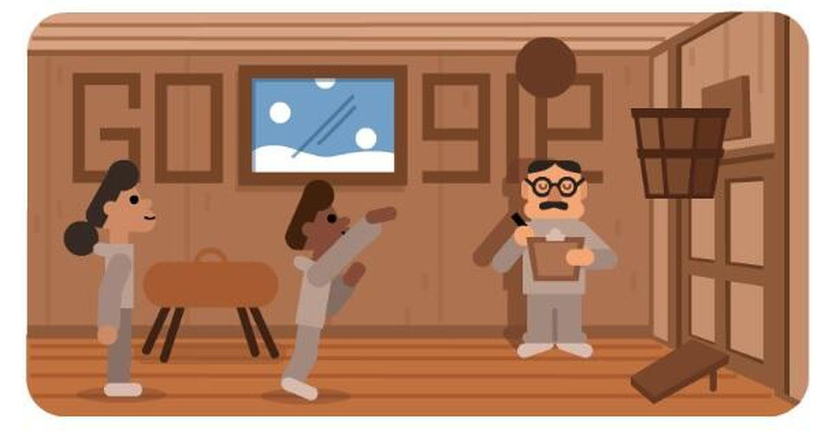 Google release Doodle to celebrate the life of Dr James Naismith