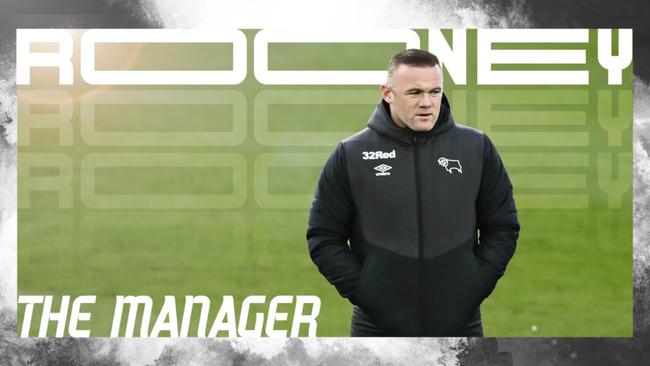 Rooney, nuevo técnico del Derby County.