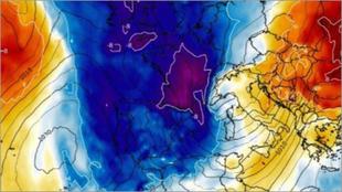 El calentamiento súbito estratosférico SWW o CSE del 5 de enero...