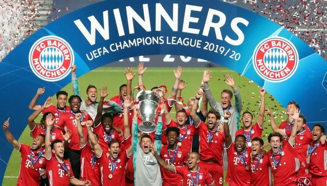 Bayern Munich win 2020 Champions League