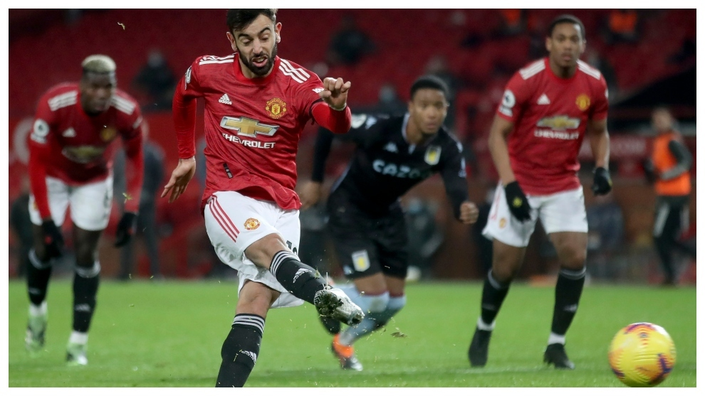 Bruno Fernandes Wins Second Consecutive Player Of The Month
