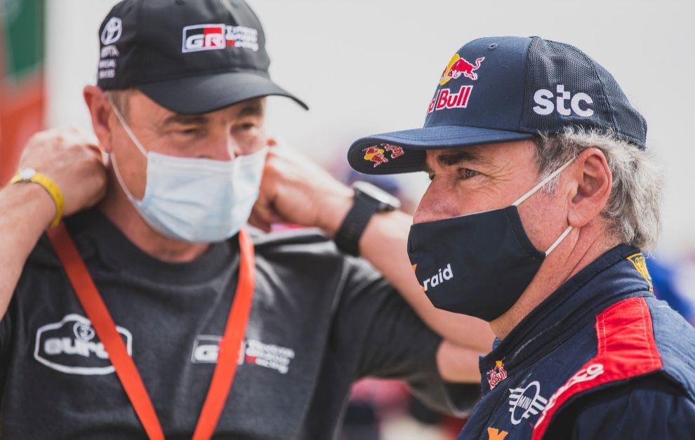 Sainz y Cruz fueron los españoles mejor clasificados en el Dakar 2021.