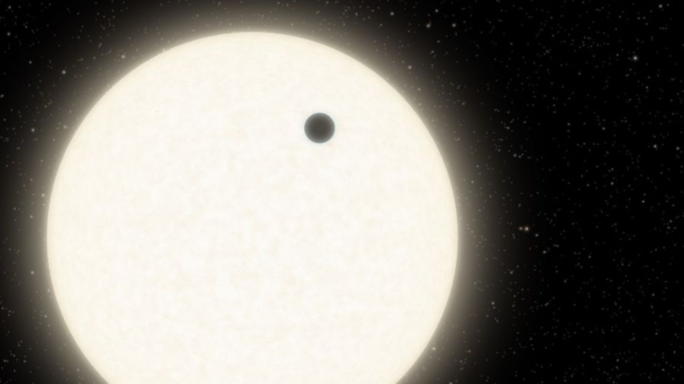Planet with three suns