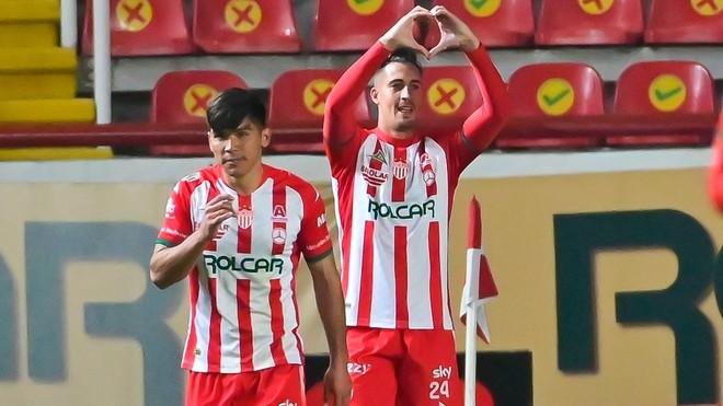 Ian González anotó el único tanto del partido