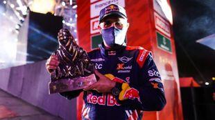Stéphane Peterhansel ganador del Rally Dakar 2021