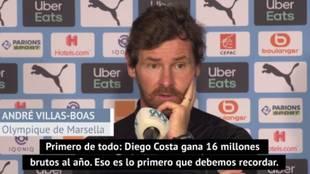 """""""Recibí un WhatsApp que decía que Diego Costa quería venir al Marsella pero..."""""""