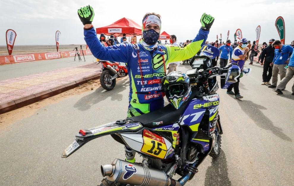 A la tercera fue la vencida y Santolino completó un Dakar.