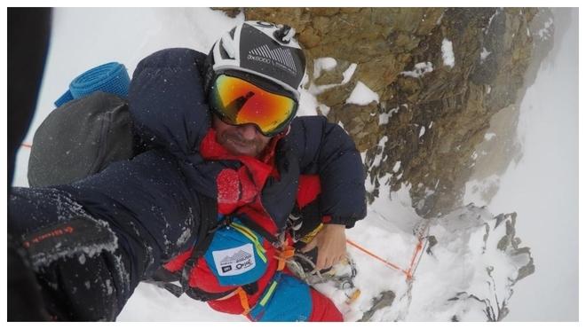 Sergi Mingote, en la imagen, ha sido el último montañero español en...