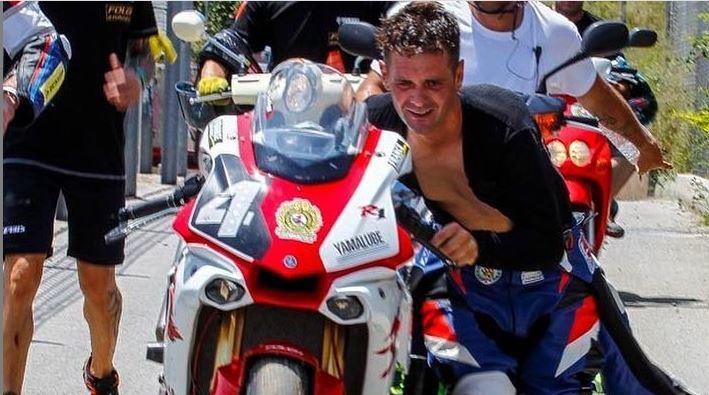 Luto en el motociclismo: muere Arturo Tizón