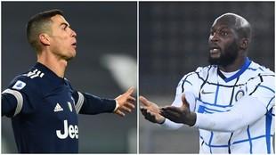 Inter de Milan se enfrenta a la Juventus en la Serie A de Italia.