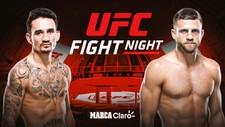 Max Holloway y Calvin Kattar, en vivo UFC Fight Island